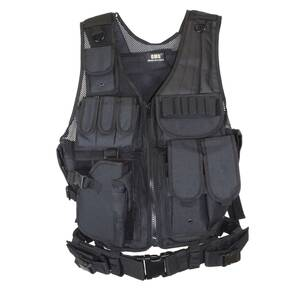 GMG Tactical Vest Left Handed Shooter(shoulder pad) Black