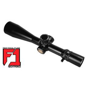 Nightforce ATACR Rifle Scope - 5-25x56mm F1 34mm ZeroStop MOAR Reticle Matte Black