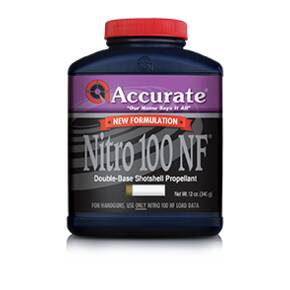 Accurate Nitro 100 NF Shotgun Powder 12 oz