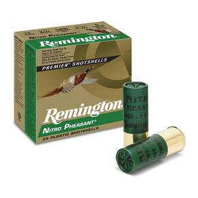 Remington Nitro Pheasant Loads Copper-Plated  Shotshells 12ga 3 in 1-5/8 oz 1350 fps 25/ct