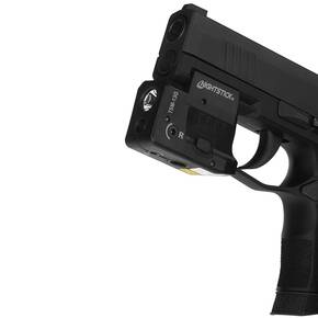 Nightstick Rechargeable Sub-Compact Weapon-Mounted Light w/Green Laser (Fits Sig P365)
