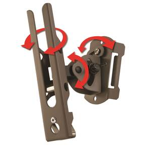 Cuddeback Genius Pan Tilt Lock (PTL) Mount includes Universal Adapter and Mounting Screws