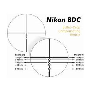 REFURBISHED Nikon M-223 Rifle Scope - 4-16x42mm BDC 600 Reticle Black Matte