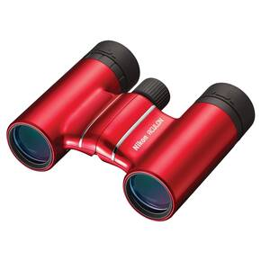 REFURBISHED Nikon Aculon T01 Binocular - 8x21mm Red