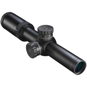 "REFURBISHED Nikon M-223 Rifle Scope - 1.5-6x24mm 30mm BDC 600 Reticle 19.7-79.2' FOV 3.8"" ER Matte"