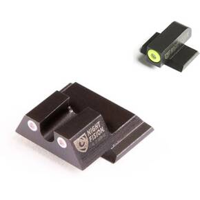 Night Fision Perfect Dot NS Set with Yellow Front + White U Rear for S&W M&P Shield