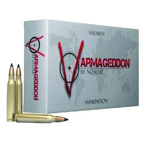 Nosler Varmageddon Rifle Ammunition 300 AAC Blackout 110gr Varmageddon Noveske 20/Box