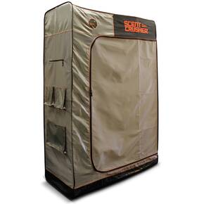 Scent Crusher Locker with Rechargeable Portable Ozone Unit