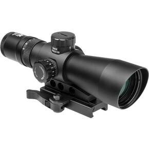 NcStar Mark III Tactical Gen II 3-9x42mm P4 Sniper Rifle Scope - Black Anodized
