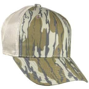 Outdoor Cap Company Original Bottomland Camo Cap - Pro Mid Crown Mesh Back OSFM