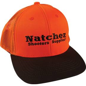 Outdoor Cap Company Natchez Cap Blaze Orange/Brown