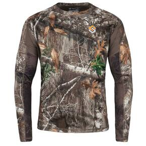 ScentLok Safari Camo Shirt Mossy Oak - Large