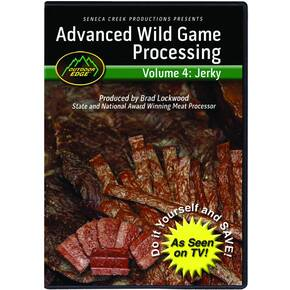 Outdoor Edge Advanced Jerky Processing DVD Volume 4