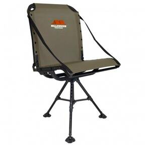 Millennium G100 Ground Blind Chair with Packable Leveling Legs