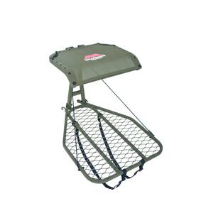 Millennium M50 Steel Leveling Hang-On Tree Stand With Footrest Includes Safe-Link 35' Safety Line