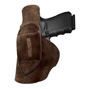 Tagua Open Top Inside the Pants Holster for Glock 42 Brown Right Hand