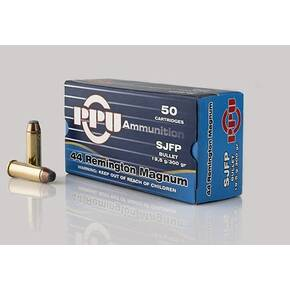 PPU Handgun Ammunition .44 Mag  240 gr HP 1541 fps 50/ct