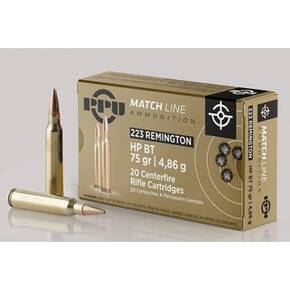 PPU MATCH Rifle Ammunition 20/ct