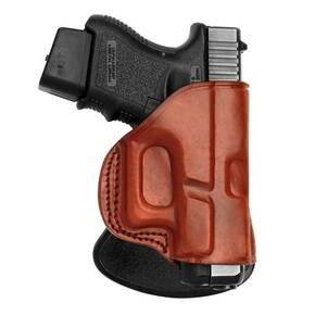 Tagua Paddle Holster for Glock 42 Brown Right Hand