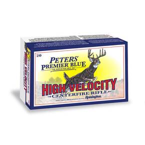 Peters Premier Blue Rifle Ammunition 7mm Rem Magnum 150 gr Blue-Tipped BT 3110 fps 20/ct