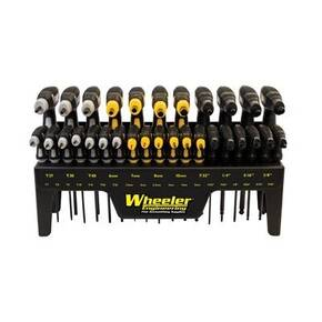 Wheeler Engineering SAE/Metric/Hex/Torx P-Handle Driver Set, 30 pc