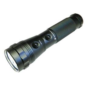Smith & Wesson Galaxy 13 LED Flashlight - (White/Red)