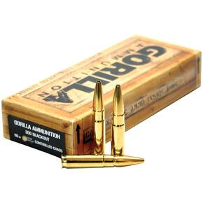 Gorilla Match Rifle Ammunition .300 AAC Blackout 110 gr OTM 2320 fps 20/ct