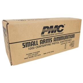 PMC Bronze Handgun Ammunition .380 ACP 90 gr FMJ 920 fps 1000/ct