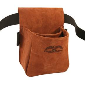 Protektor Model Trap/Skeet Shooters Bag - Suede Leather