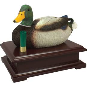 Personal Security Products Decoy Duck Box - 9x6x2 Cherry Wood