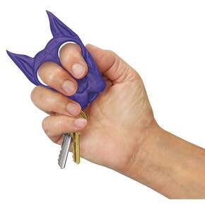 Personal Security SPIKE Self Defense Keychain - Purple