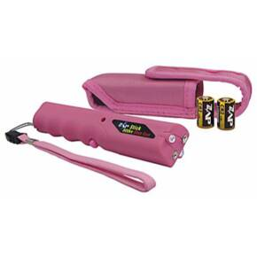 Personal Security ZAP Stick Stun Gun with Light & Case - 800,000 Volt Pink