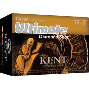 "Kent Ultimate Diamond Shot Turkey 12 ga 3"" MAX 2 oz #5 1175 fps - 10/box"