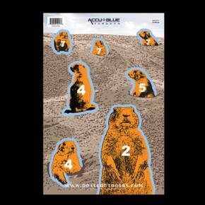 "Do-All Outdoors Target - Prairie Dog 12""x18"" 10 Pack"