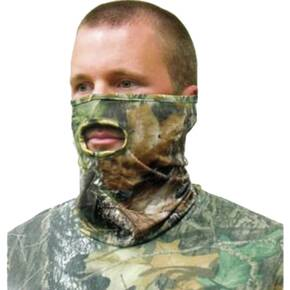 Primos Stretch Fit 1/2 Face Mask - RealTree APG HD