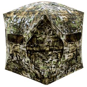 Primos Double Bull Deluxe GO Ground Blind 60x60 - TRUTH Camo