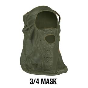 Primos 3/4 Face Mask   - OD Green Mesh