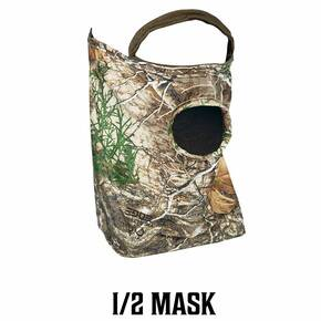 Primos Stretch Fit Mask - RealTree Edge Camo 1/2 Face