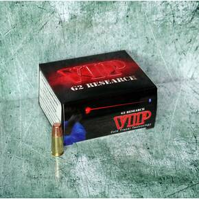G2 Research V.I.P. Handgun Ammunition 9mm 95 gr 1200 fps 20/box