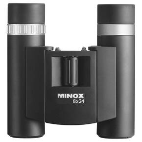 Minox BD Binocular - 8x24mm Black