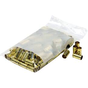 BVAC New Unprimed Brass Handgun Cartridge Cases 100/ct .45 ACP