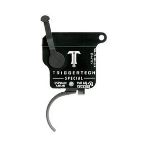 TriggerTech Rem 700 Special Curved Trigger Single Stage Black/Black