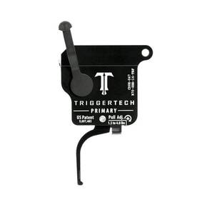 TriggerTech Rem 700 Primary Flat Trigger Single Stage Black/Black