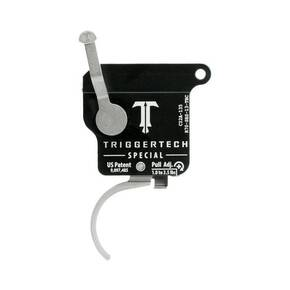 TriggerTech Rem 700 Special Curved Trigger Single Stage Stainless Steel/Black