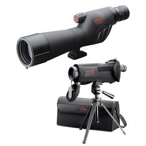 BLEMISHED Redfield Rampage Spotting Scope Kit - 20-60x60mm Straight Black Matte