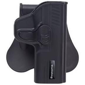 Bulldog Rapid Release Polymer holster with paddle - right hand only Fits Glock 43
