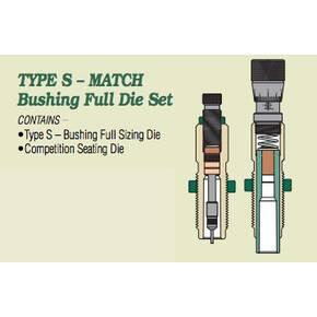Redding Type S Match Bushing Full Die Set .26 Nosler