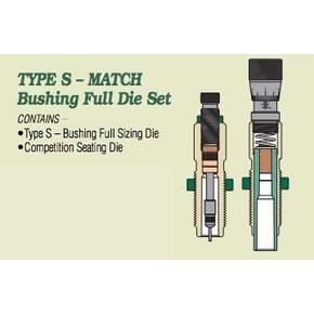 Redding Type S Match Bushing Full Die Set .24 Nosler