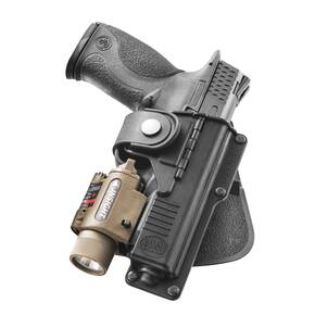 Fobus Paddle Holster For for Glock 17/22/31 With Light Or Laser