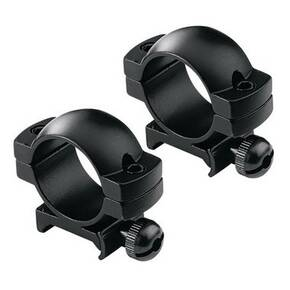 "Redfield 2-Piece Aluminum Scope Rings 1"" High, Matte"
